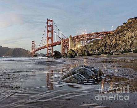 Golden Gate Reflections by Mark Chandler