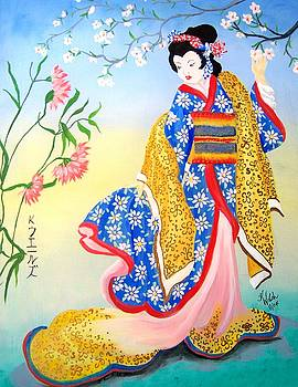 Golden Geisha by Kathern Welsh