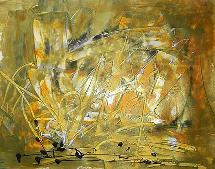 Golden Grass by Sonal Raje