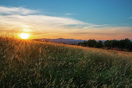 Golden Hour at Million Dollar View by Jeff Severson