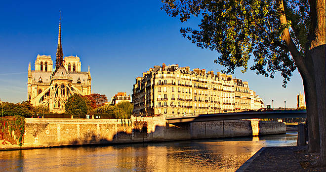 Golden Hour in Paris by Barry O Carroll