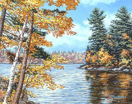 Richard De Wolfe - Golden Lake