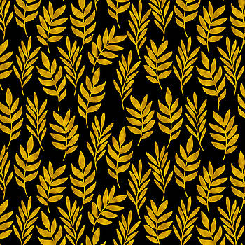 Golden leaf pattern by Stanley Wong