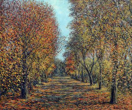Golden Light Autumn by Eugene Kuperman
