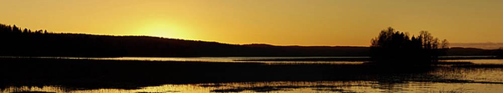 Golden light panorama by Jouko Lehto