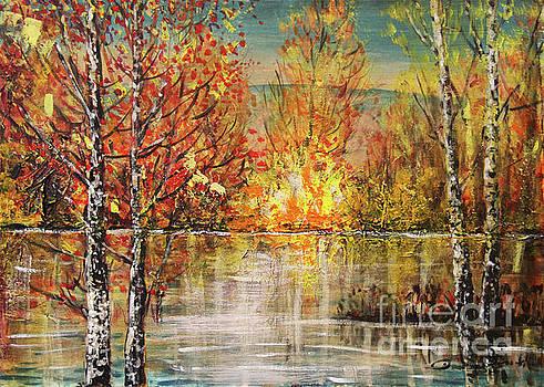 Golden Lights by Dariusz Orszulik