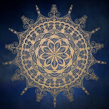 Golden Mandala by Gabriella Weninger - David