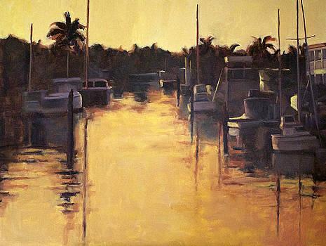 Golden Marina 1 by Tate Hamilton