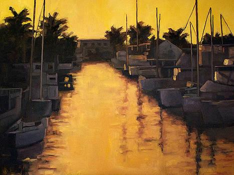 Golden Marina 2 by Tate Hamilton