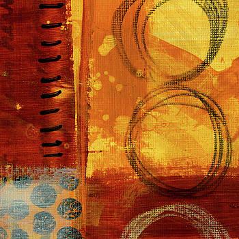 Golden Marks 10 by Nancy Merkle