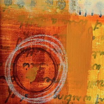 Golden Marks 11 by Nancy Merkle