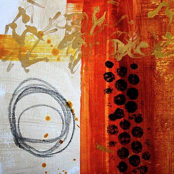 Golden Marks 8 by Nancy Merkle