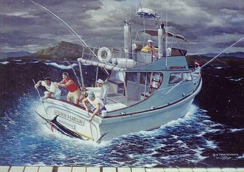 Golden Marlin-Kona Winds by Leif Thor Kvammen