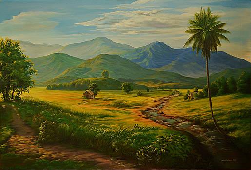 Golden Morning by John magne Lisondra