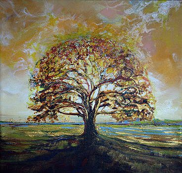 Golden Oak by Michele Hollister - for Nancy Asbell