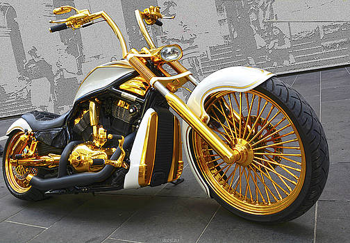 Golden one by Peter Krause
