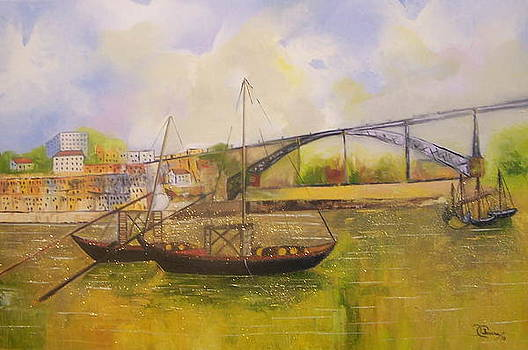 Golden Oporto by Isaura Campos