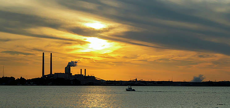 Golden Pano On The Patapsco by Brian Wallace