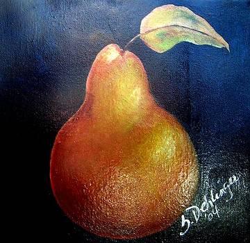 Golden Pear by Susan Dehlinger