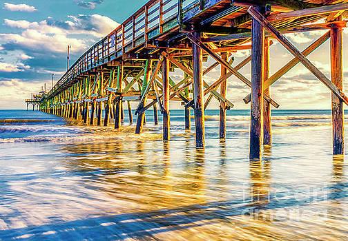 Golden Pier Sunset by David Smith