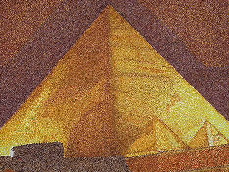 Golden Pyramid by Clifton Dobbs