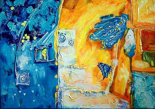 Golden Rain by Ewa BOROWKA