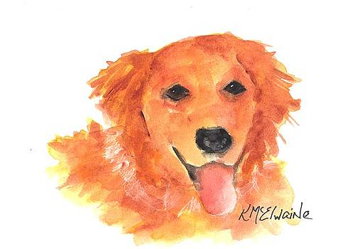 Golden Retriever by Kathleen McElwaine