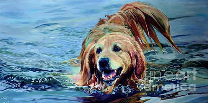 Golden Retriever by Kelly McNeil
