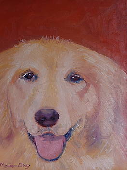 Golden Retriever by Maureen Obey