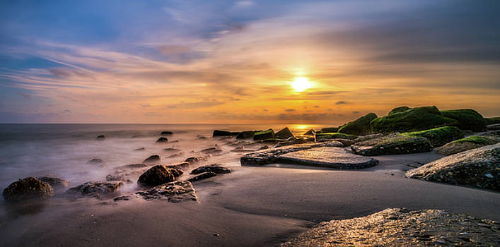 Golden Shoreline by John Randazzo