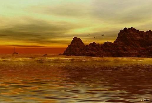 Golden Shores by Julie Grace