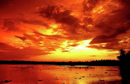 Golden sky by Farah Faizal