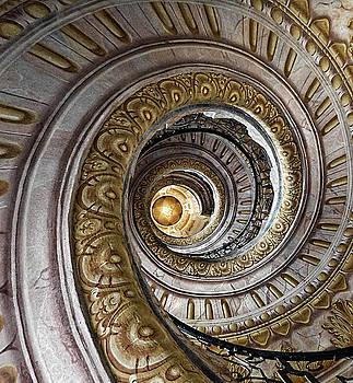 Golden Spiral by Deborah Jahier