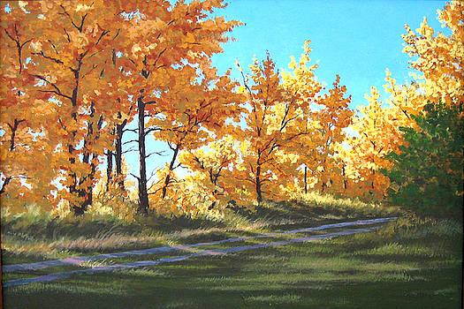 Golden Splendor by Diane Ellingham