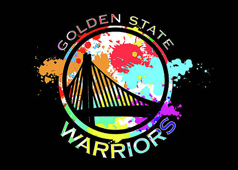 Golden State Warriors Pop Art by Ricky Barnard