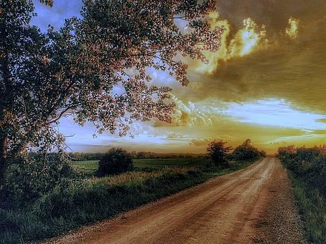 Golden sunset by Dustin Soph