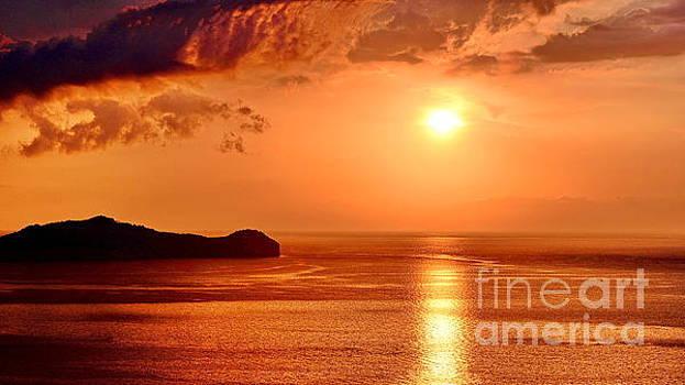 Golden Sunset by George Paris