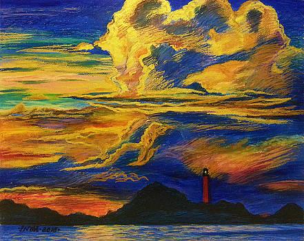 Golden Sunset by Inga Vereshchagina