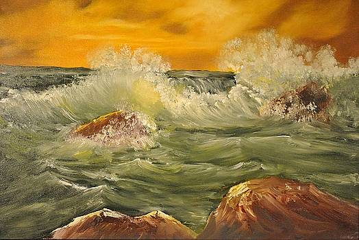 Golden Sunset by James Higgins
