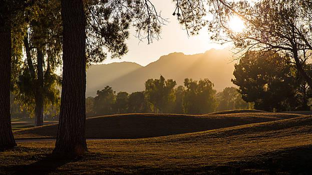 Golden Sunset by Mark Spomer