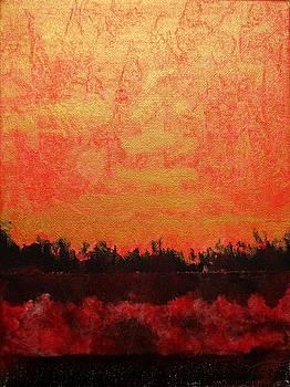 Golden Sunset by Sabine Steldinger