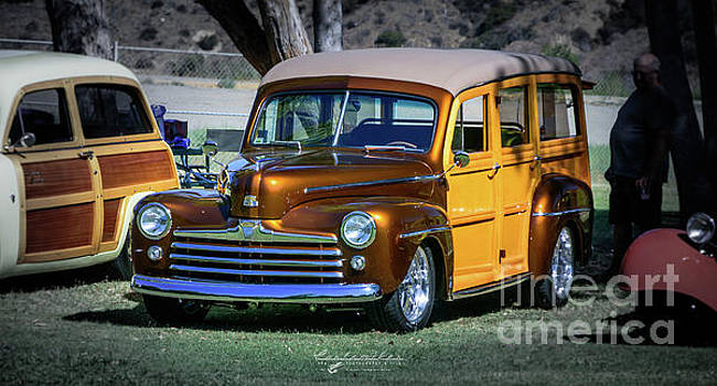 Golden Surf Wagon by Customikes Fun Photography and Film Aka K Mikael Wallin