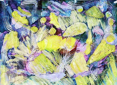 Golden Swirls by Don Wright
