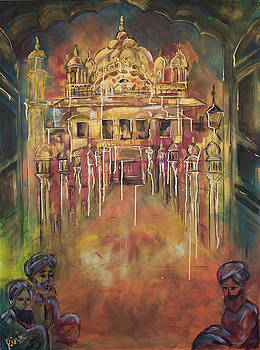 Golden Temple Vintage by Rina Bhabra