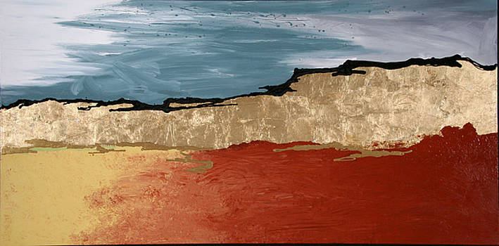 Golden Terrain by Diane Clement