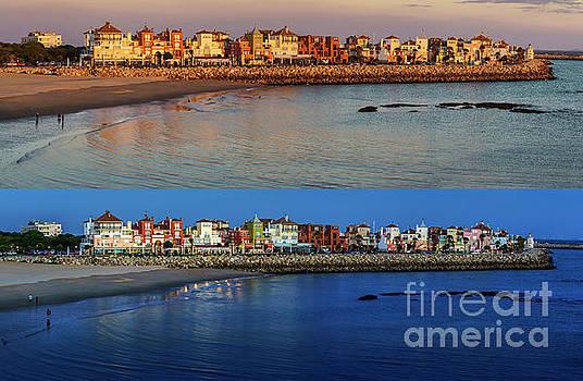 Golden to Blue Hour Puerto Sherry Cadiz Spain by Pablo Avanzini