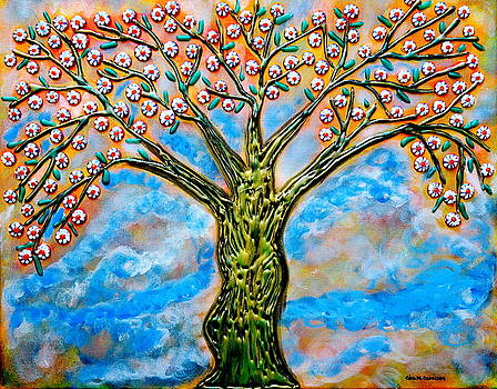Golden Tree by Gina Nicolae Johnson