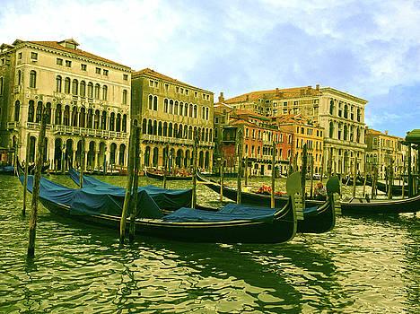 Golden Venice by Anne Kotan