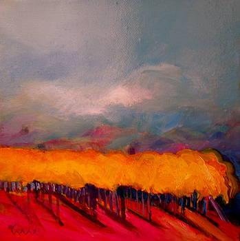 Golden Vines by Diane Woods