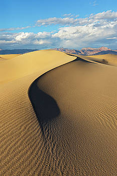 Death Valley - Golden Wave by Francesco Emanuele Carucci